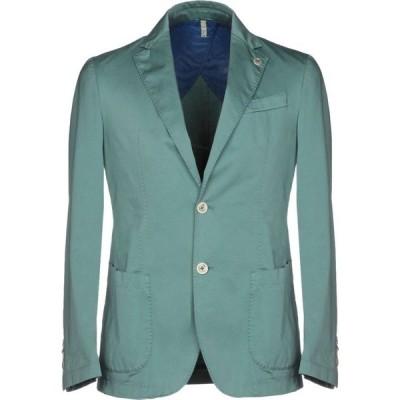 ドメニコ タリエンテ DOMENICO TAGLIENTE メンズ スーツ・ジャケット アウター blazer Turquoise