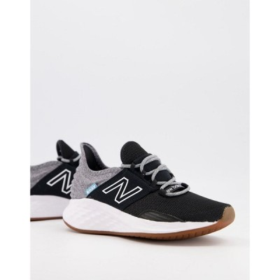 ニューバランス New Balance レディース ランニング・ウォーキング シューズ・靴 Running Roav trainers in black ブラック