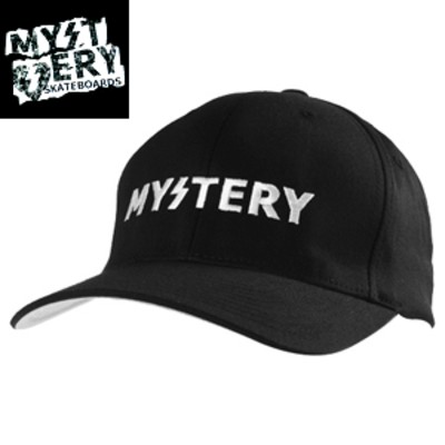 MYSTERY ミステリー TEXT LOGO FLEX HAT フレックス ハット NO.4