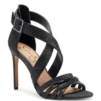 ジェシカシンプソン レディース サンダル シューズ Mahley Rhinestone Embellished Dress Sandals