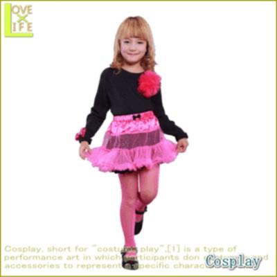 【最終価格!】 【数量限定】【スカート】【キッズ】キッズパニエ キャンディーピンク  ふんわりガーリーなシルエットの