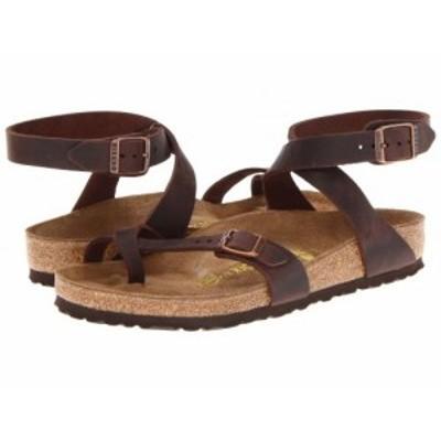 Birkenstock ビルケンシュトック レディース 女性用 シューズ 靴 サンダル Yara Habana Oiled Leather【送料無料】
