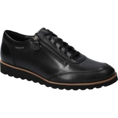 メフィスト Mephisto メンズ スニーカー シューズ・靴 Valentino Sneaker Black Randy Smooth Leather