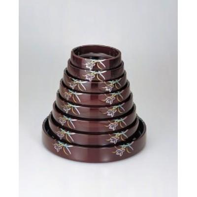 寿司桶 DXタイコ桶 溜蘭内塗溜 7寸 1人用 ABS樹脂 f6-1133-33