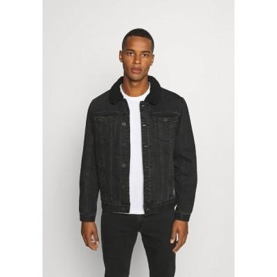 ブレンド ジャケット&ブルゾン メンズ アウター OUTERWEAR - Denim jacket - denim black