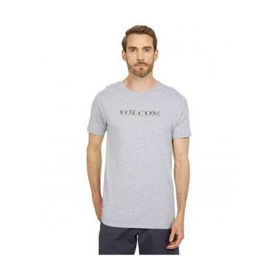 Volcom ヴォルコム メンズ 男性用 ファッション Tシャツ Perf Short Sleeve Tee - Heather Grey