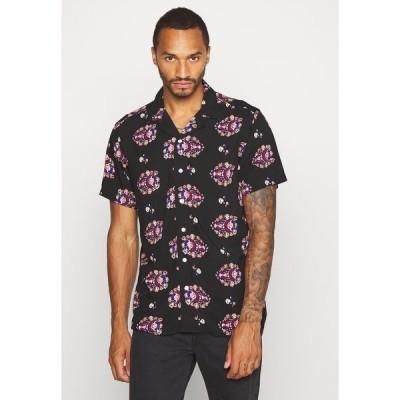 リディファイン レベル シャツ メンズ トップス LUKE SHIRT - Shirt - black boheme