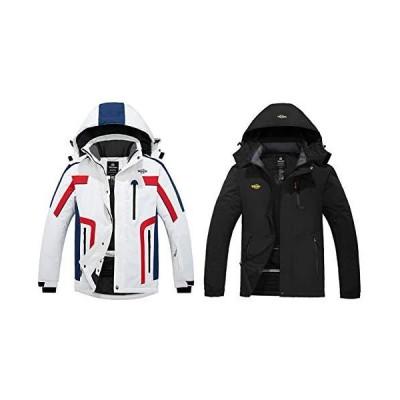 Wantdo Men's Ski Jacket L + Men's Snowboarding coat L(並行輸入品)