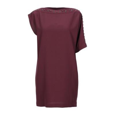 MÊME ROAD ミニワンピース&ドレス ボルドー 40 ポリエステル 97% / ポリウレタン 3% ミニワンピース&ドレス