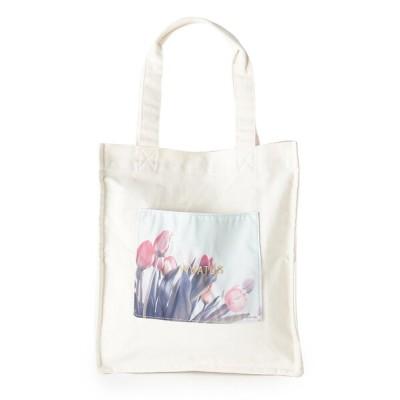 ESPERANZA / 売切終了★【残りわずか】転写刺繍トート(フラワー) WOMEN バッグ > トートバッグ