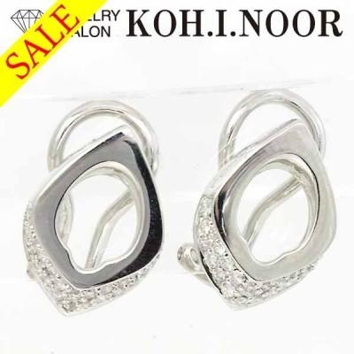 《SALE》シャリオール ダイヤモンド 18金ホワイトゴールド WG750 K18WG イヤリング クリップ式 CHARRIOL