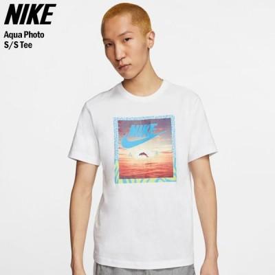 ナイキ Tシャツ 半袖 NIKE メンズ アクア フォト ( nike Aqua Photo S/S Tee T-SHIRTS カットソー トップス 男性用 CT6591 )