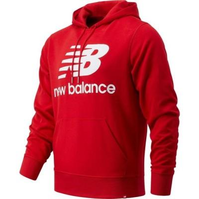 ニューバランス NEW BALANCE メンズ パーカー トップス Essentials Logo Graphic Hoodie Team Red Inline