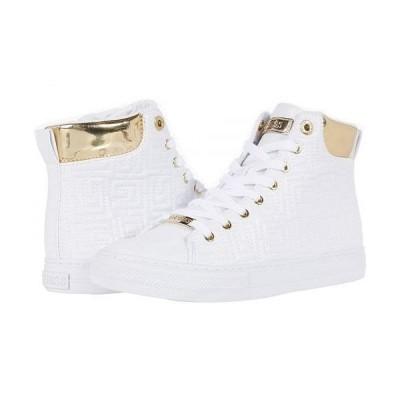 GUESS ゲス レディース 女性用 シューズ 靴 スニーカー 運動靴 Lammi - White
