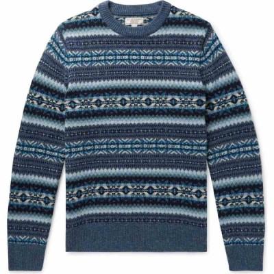ジェイクルー J.CREW メンズ ニット・セーター トップス sweater Slate blue