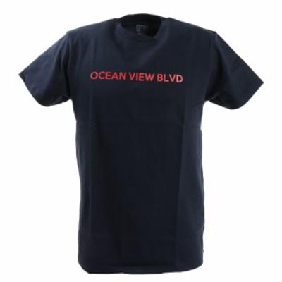 エーシーピージー(ACPG)Tシャツ メンズ プリント 半袖 871PA0BGI3119NVY(Men's)