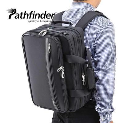 革ケアキット/防水スプレー どちらかプレゼント! パスファインダー Pathfinder 3WAY ビジネスバッグ B4対応 拡張機能 PC収納 PF6812B