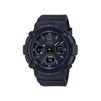 カシオ ソーラー電波腕時計 BABY-G ブラック BGA28001AJF
