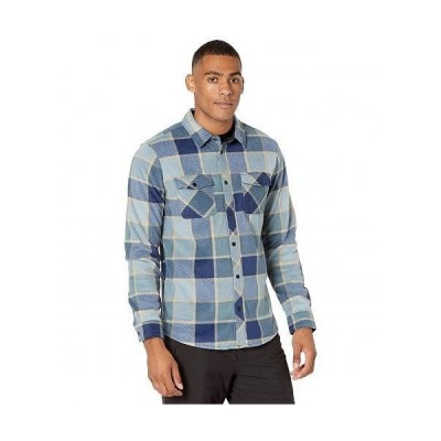 O'Neill オニール メンズ 男性用 ファッション ボタンシャツ Glacier Plaid Shirt - Navy