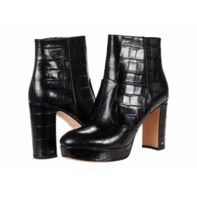 Kate Spade New York ケイト・スペード レディース 女性用 シューズ 靴 ブーツ アンクル ショートブーツ Barrett Black【送料無料】