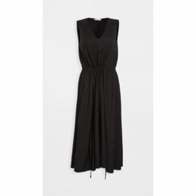 ヴィンス Vince レディース ワンピース Vネック ワンピース・ドレス Drawstring V Neck Dress Black