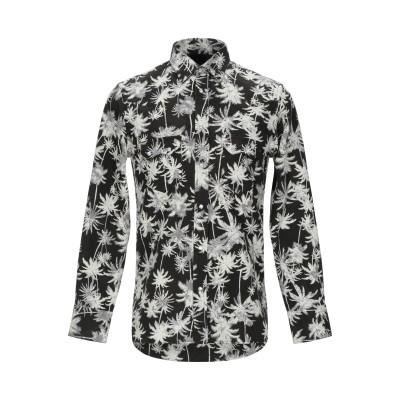DOPPIAA シャツ ブラック 39 コットン 100% シャツ
