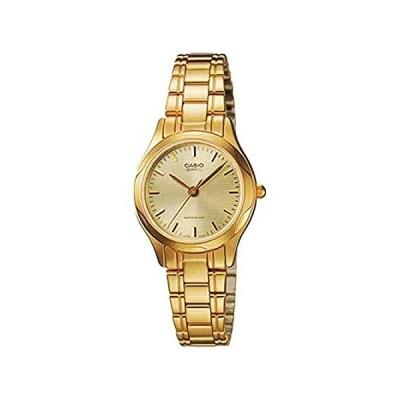 Casio General Ladies Watchesメタルファッションltp-1275g-9adf–WW