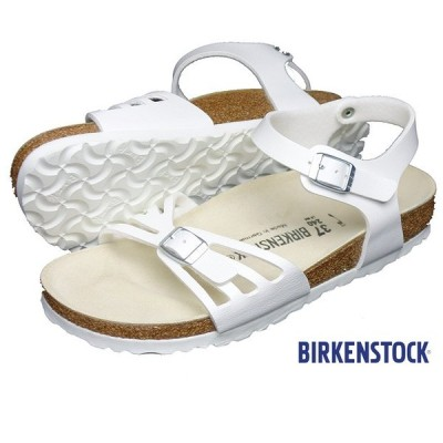 BIRKENSTOCK ビルケンシュトック BALI バリ サンダル レディース アンクルストラップ ホワイト 085053