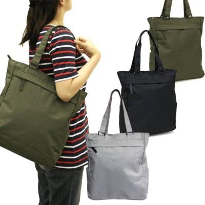 トートバッグ メンズ ポリエステル スタンダード 縦型 大容量 A4 対応 シンプル バッグ