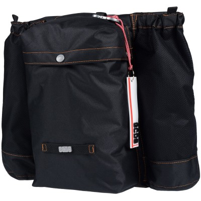GCDS バックパック&ヒップバッグ ブラック ポリエステル バックパック&ヒップバッグ