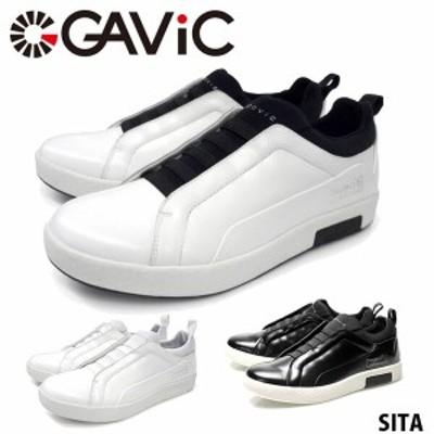 送料無料 ガビック ライフスタイル GAVIC LIFE STYLE メンズ レディース スリッポン スニーカー シータ SITA ローカット 紐なしスニーカ