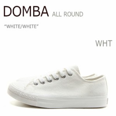 DOMBA SHOES ALL ROUND WHITE/WHITE スニーカー シューズ  【M-5004】シューズ
