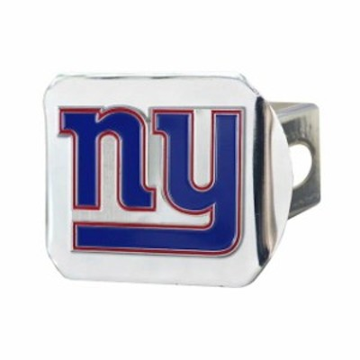 Fan Mats ファン マット スポーツ用品  New York Giants Color on Chrome Hitch Cover