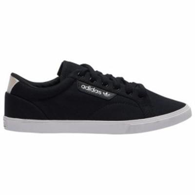 (取寄)アディダス オリジナルス レディース シューズ スリーク Lo Adidas originals Women's Shoes Sleek Lo Black Crystal White White