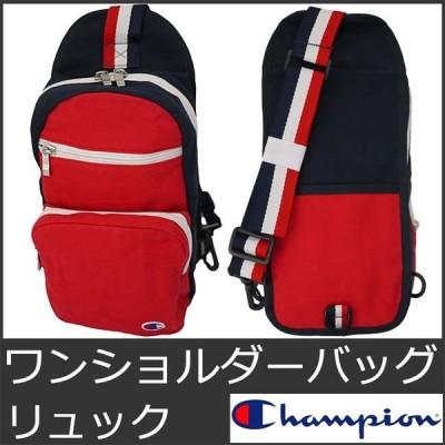 チャンピオン ワンショルダーバッグ メンズ レディース キッズ ボディバッグ レッド CHAMPION 9003