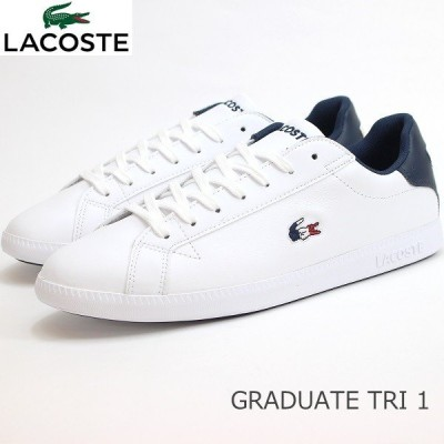 ラコステ スニーカー LACOSTE GRADUATE TRI 1 SMA0027-407 ラコステ グラデュエイト TRI 1