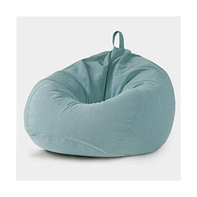Sisyria Floor Sofa Sack Removable & Washable,Durable Bean Bag Chair Breathable Soft Couch Lounger Comfort Gaming Chair Reading Chair,Green,1