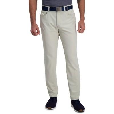 ハガール カジュアルパンツ ボトムス メンズ The Active Series Slim Fit Flat Front 5-Pocket Tech Pant Light Beige