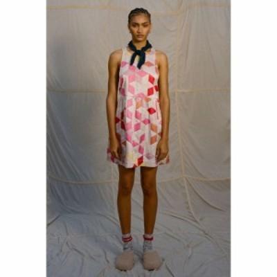キムチブルー Kimchi Blue レディース ワンピース ワンピース・ドレス Milly Silky Quilted Halter Dress Multi