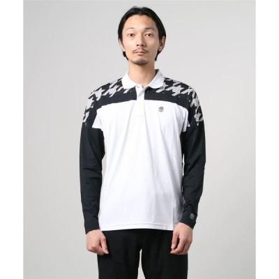 ポロシャツ 《HYDROGEN/ハイドロゲン》ゴルフ ポロシャツ LS/GOLF POLO LS