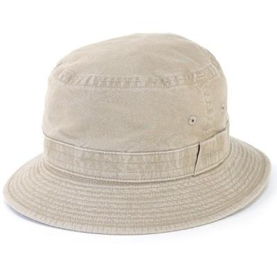ウォッシュドコットン サハリ ハット ステットソン 帽子 メンズ stetson 日本製 折りたたみ可 サファリハット 手洗い可 S〜5Lまで サイズ豊富 ベージュ