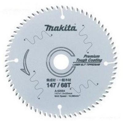 マキタ プレミアムタフコーティングチップソー 造作用 147mm×68P(A-52554) 5枚セット