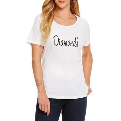 ヘリテージ レディース Tシャツ トップス Diamond's Logo Tee