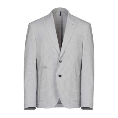 DOMENICO TAGLIENTE テーラードジャケット グレー 50 コットン 98% / ポリウレタン 2% テーラードジャケット