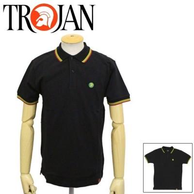 TROJAN (トロージャン) TC1009 Signature Pique シグネチャーピケ ポロシャツ 全2色 TJ003