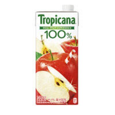 キリンビバレッジキリンビバレッジ トロピカーナ 100% アップル 1L 1箱(6本入)