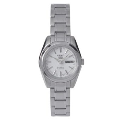 セイコー SEIKO 5 腕時計 海外モデル 自動巻き シルバー文字盤 SYMK13K1 レディース [逆輸入品]