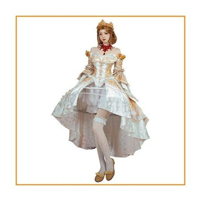 Identity V Mary Cosplay Costume Bloody Queen Fancy Outfits Medieval Renaissance Dress_並行輸入品