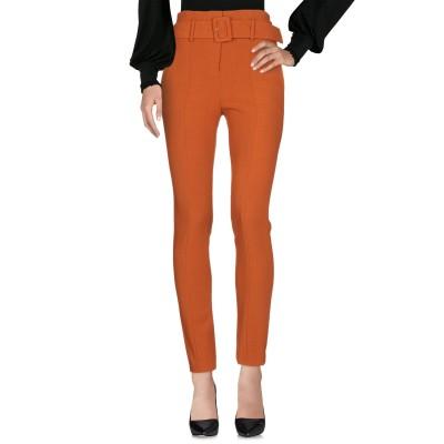 セオリー THEORY パンツ 赤茶色 0 レーヨン 57% / バージンウール 39% / ポリウレタン 4% パンツ