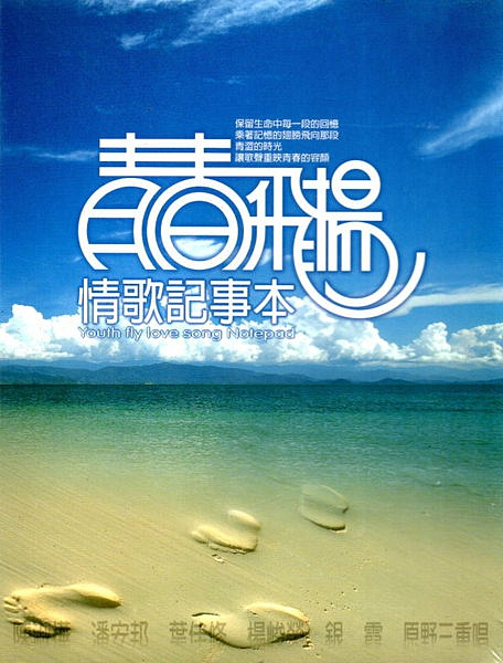 【停看聽音響唱片】【CD】青春飛揚情歌記事本10CD